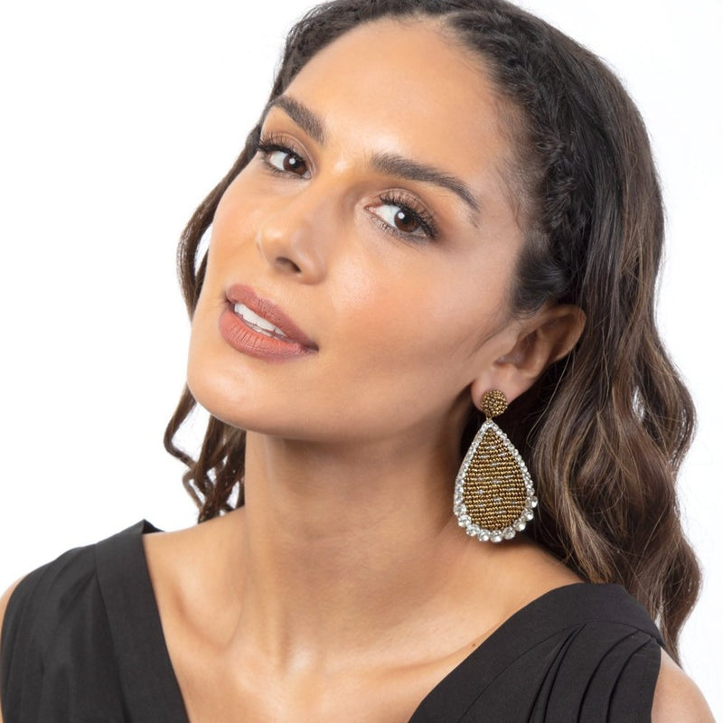 Our Laxmi Earrings are guaranteed to turn heads