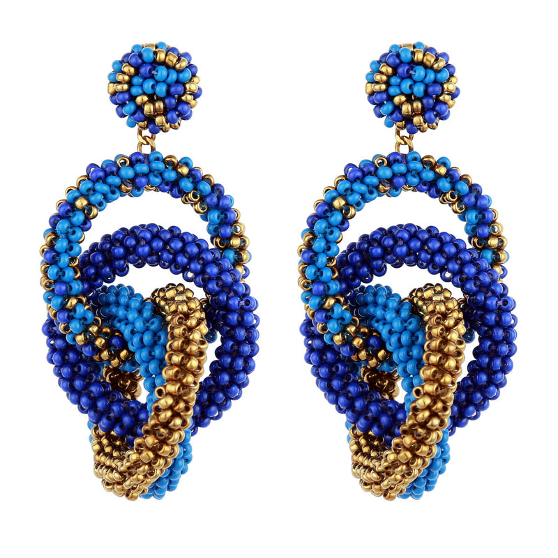 Deepa by Deepa Gurnani Carolyn Earrings Blue