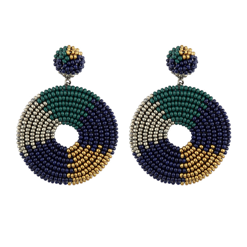 Deepa by Deepa Gurnani Baylee Earrings Emerald