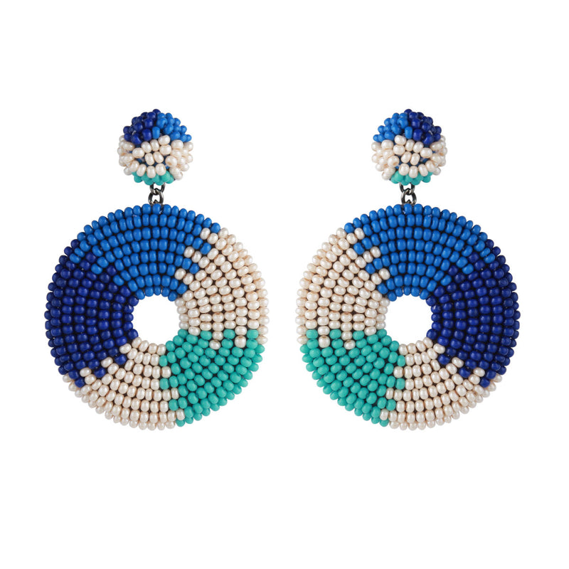 Deepa by Deepa Gurnani Baylee Earrings Turquoise