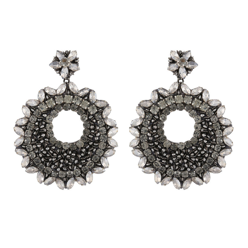 Deepa by Deepa Gurnani Carter Earrings Gun