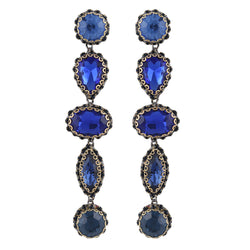 Deepa by Deepa Gurnani Handmade Deedee Earrings Blue