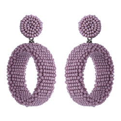 Deepa by Deepa Gurnani Lianne Earrings Lavender