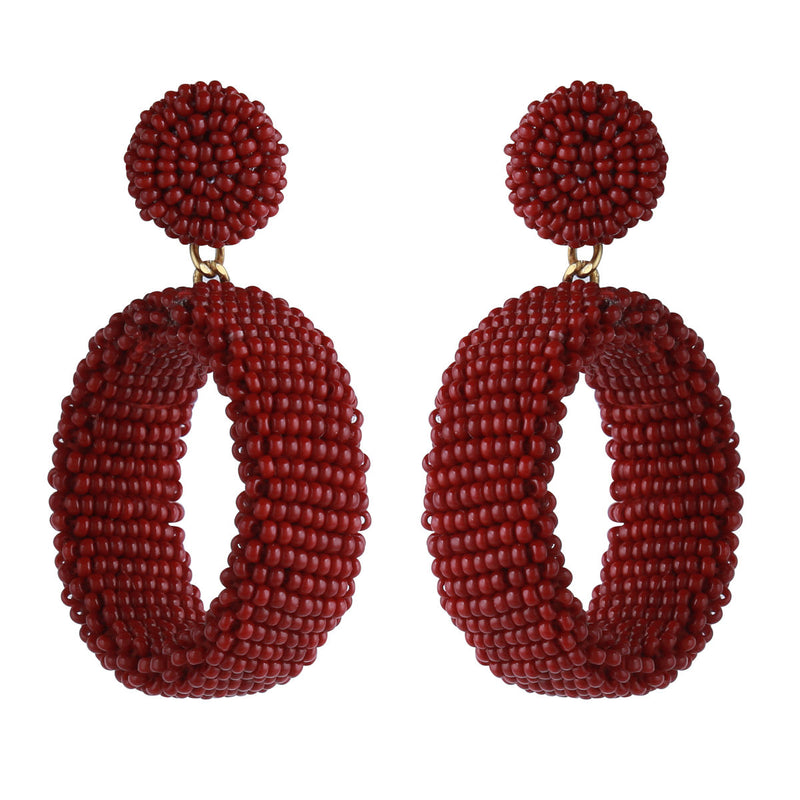 Deepa by Deepa Gurnani Lianne Earrings Rust