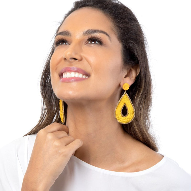 Impress endlessly with our Abia Earrings