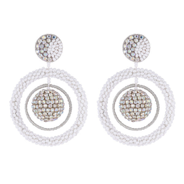 Deepa by Deepa Gurnani Handmade Tinsley Earrings
