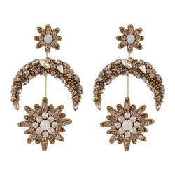 Deepa by Deepa Gurnani Handmade Petra Earrings