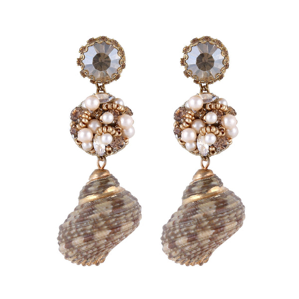 Deepa by Deepa Gurnani Handmade Cybil Earrings Gold