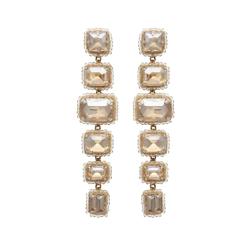 Deepa by Deepa Gurnani Handmade Bree Earrings Gold