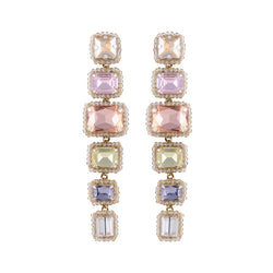 Deepa by Deepa Gurnani Handmade Bree Earrings Pastel Multi