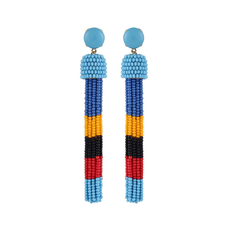 Deepa by Deepa Gurnani Handmade Erika Earrings Turquoise