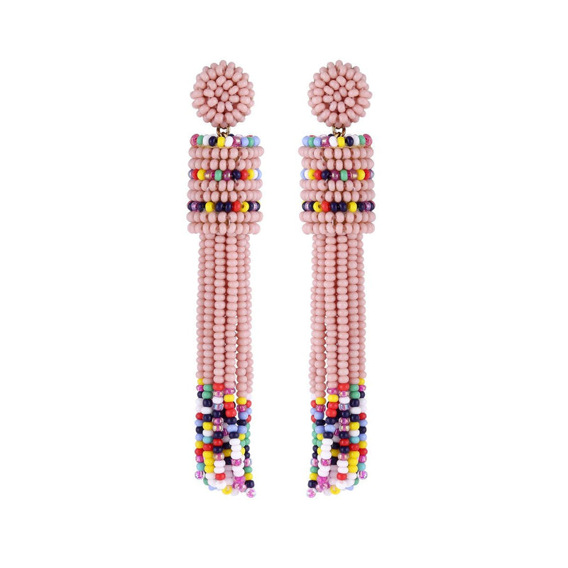 Deepa by Deepa Gurnani Handmade Emie Earrings Pink