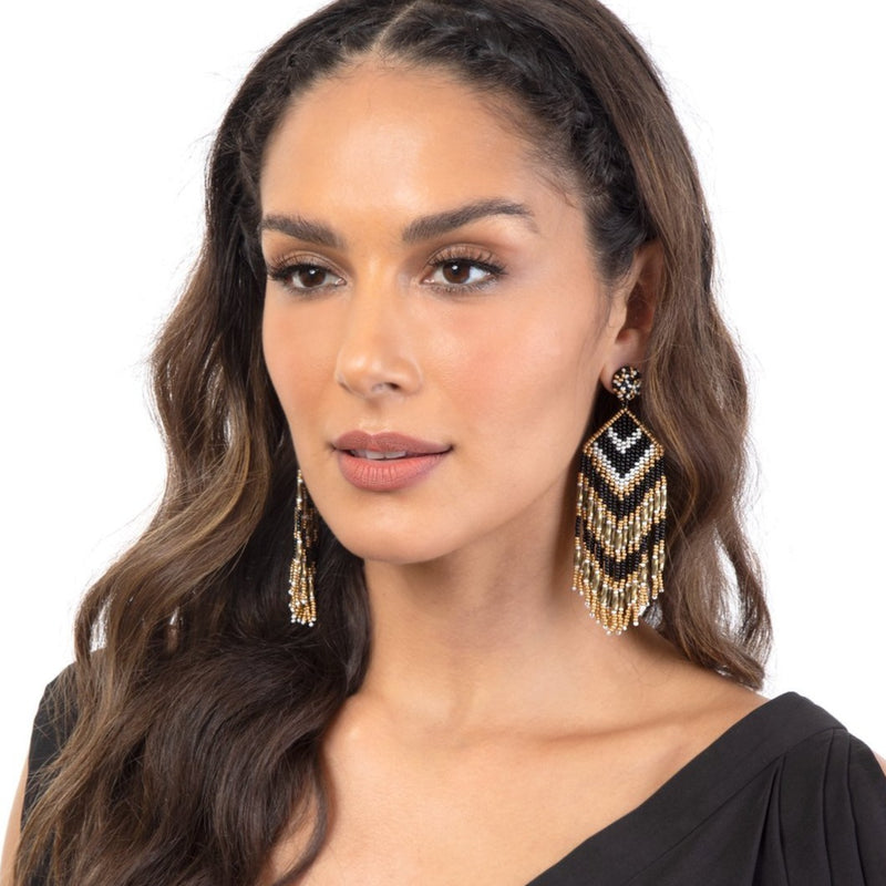 Our Franny Earrings deserves a place in your jewelry box.