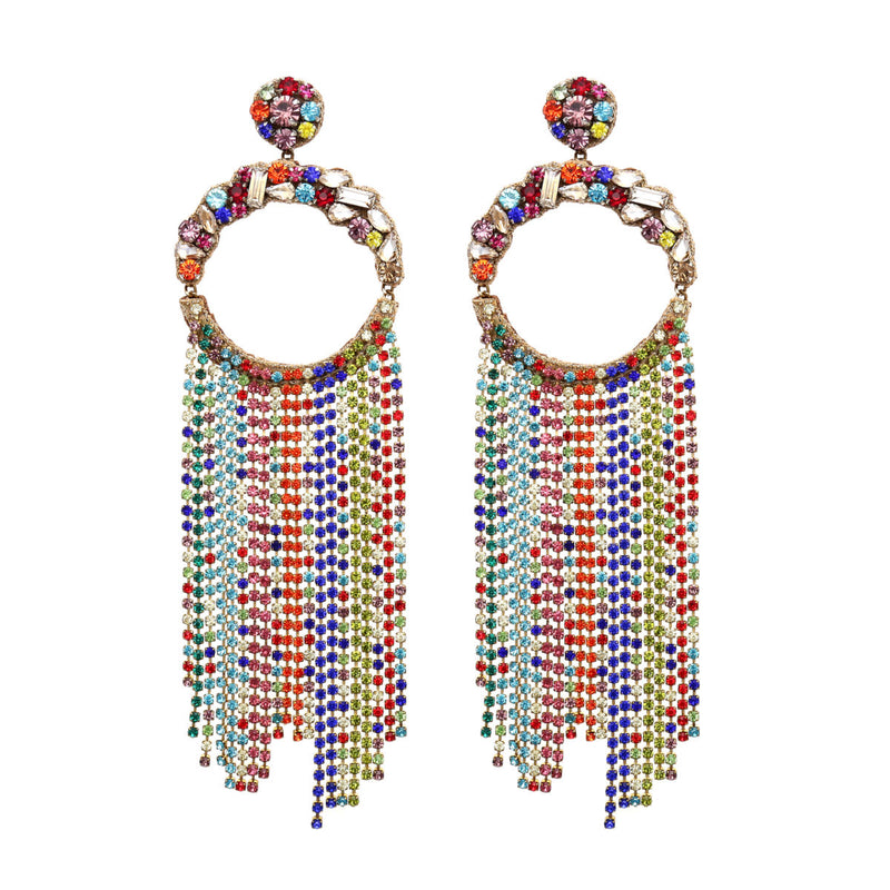 Deepa by Deepa Gurnani Handmade Gayle Earrings Multi Color