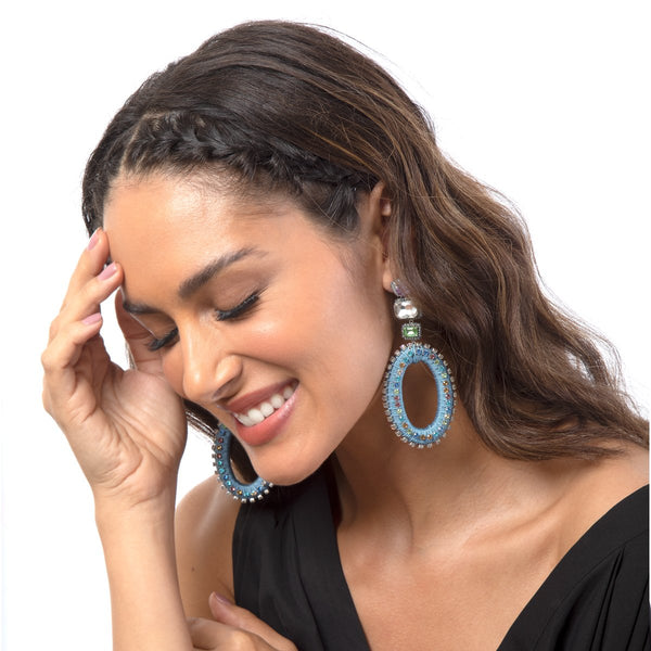 Add sophistication with our handmade Haiden Earrings