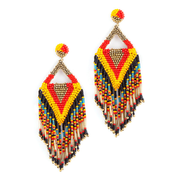 Handmade multicolor earrings