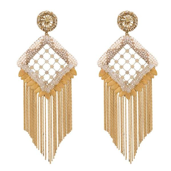 Deepa Gurnani Handmade Amorica Luxe Earrings