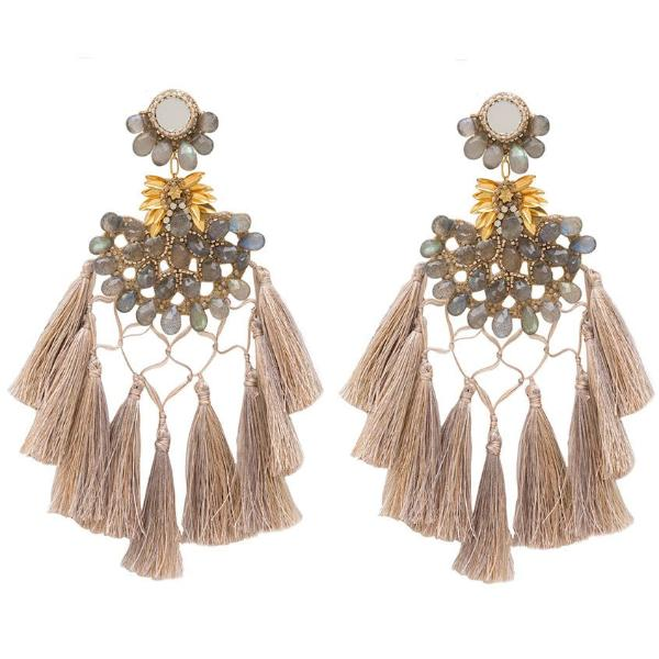 Deepa Gurnani Handmade Cwen Earrings