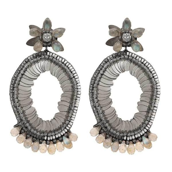 Deepa Gurnani Handmade Alex Luxe Earrings