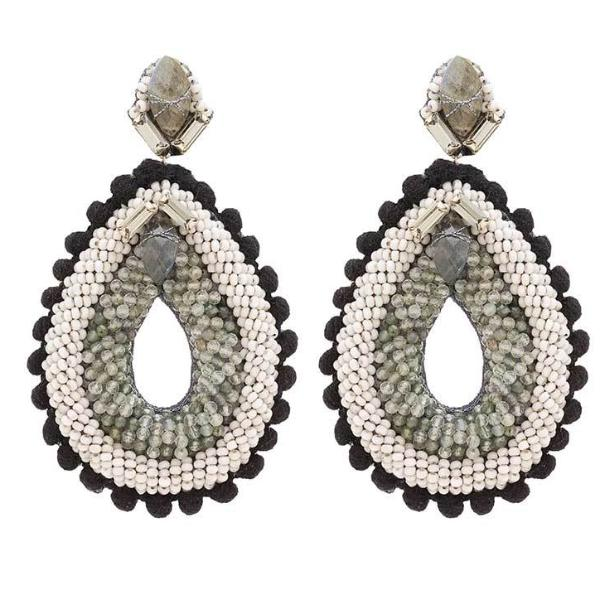 Deepa Gurnani Handmade Aliza Luxe Earrings
