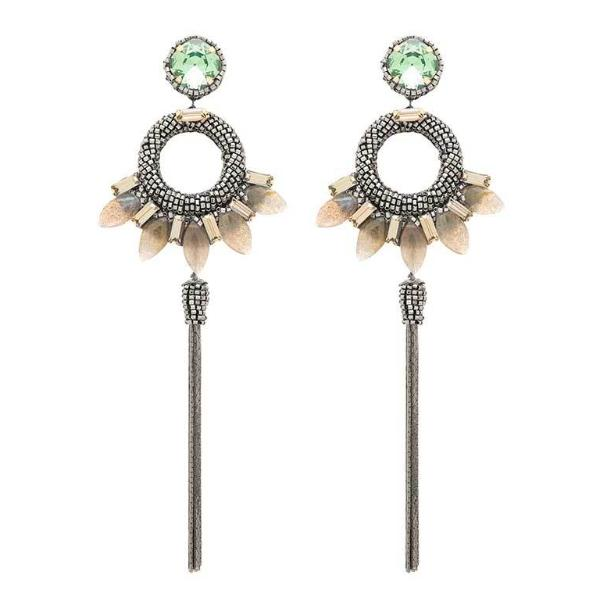 Deepa Gurnani Handmade Christina Luxe Earrings