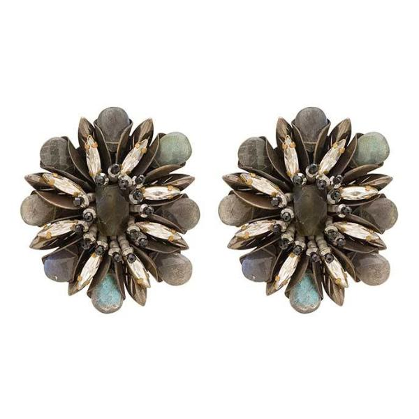 Deepa Gurnani Handmade Aryssa Clip-on Luxe Earrings