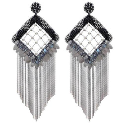 Deepa Gurnani Handmade Paulina Luxe Earrings