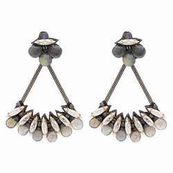 Deepa Gurnani Handmade Kirstie Luxe Earrings