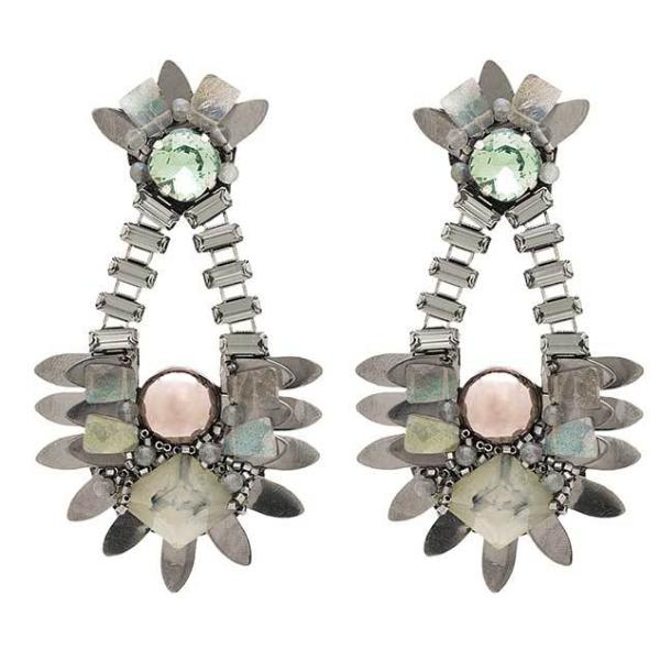 Deepa Gurnani Handmade Veronica Luxe Earrings