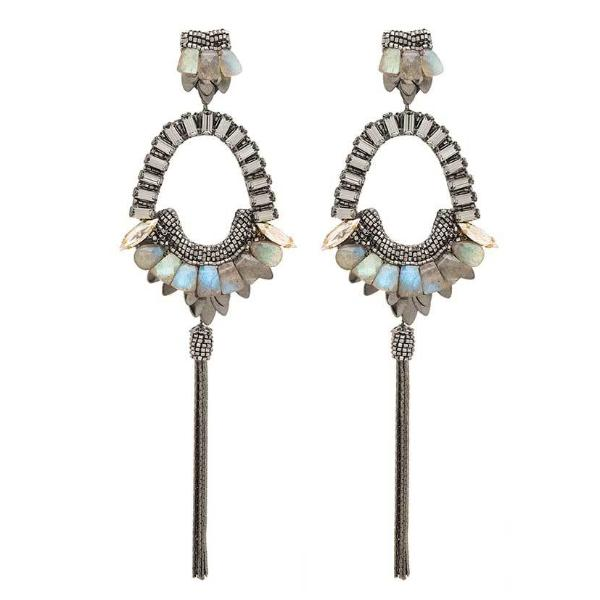 Deepa Gurnani Handmade Arlie Luxe Earrings