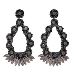Deepa Gurnani Handmade Yadaliz Luxe Earrings