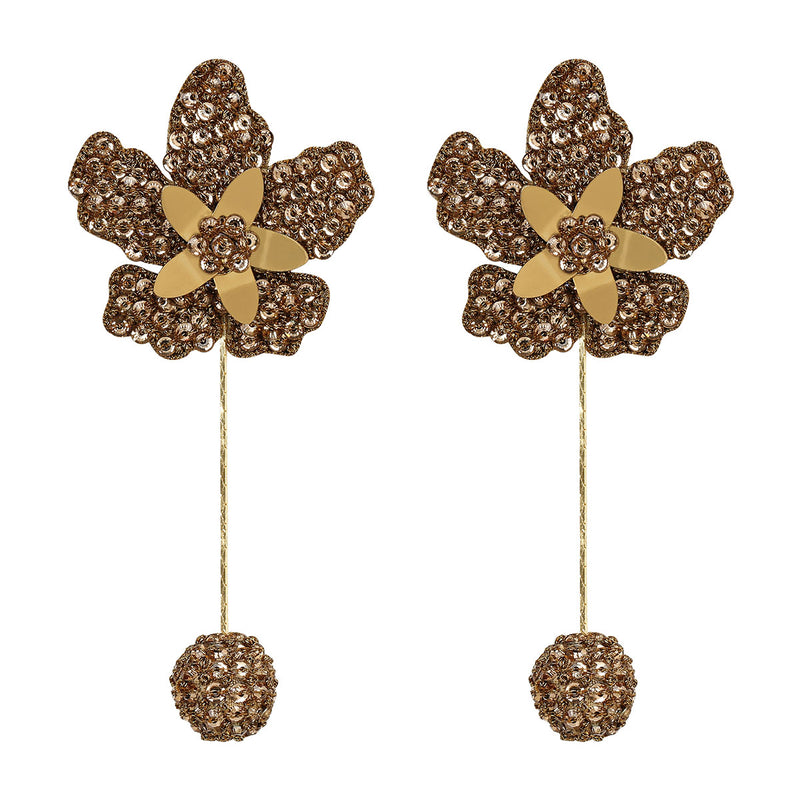Deepa Gurnani Handmade Jazmin Earrings