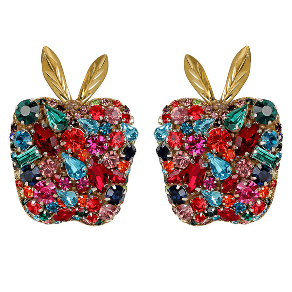 Apple Clip-on Earrings