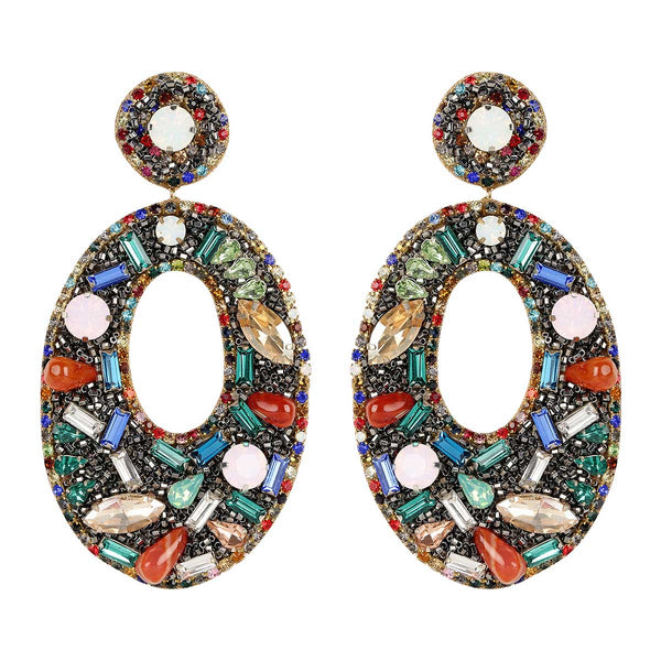 Deepa Gurnani Handmade Multicolor Lainey Earrings