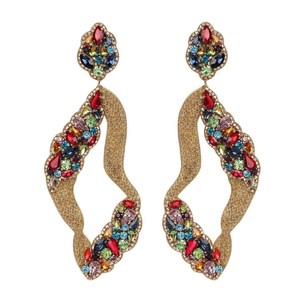 Deepa Gurnani Handmade Laylah Earrings