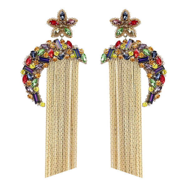 Deepa Gurnani Handmade Ginnie Earrings