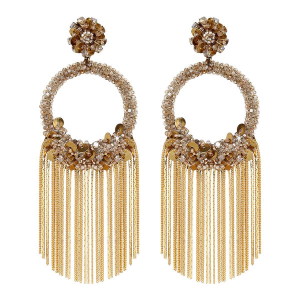 Deepa Gurnani Handmade Hedi Earrings