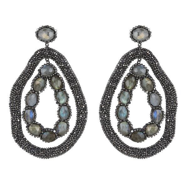 Deepa Gurnani Handmade Ellish Earrings