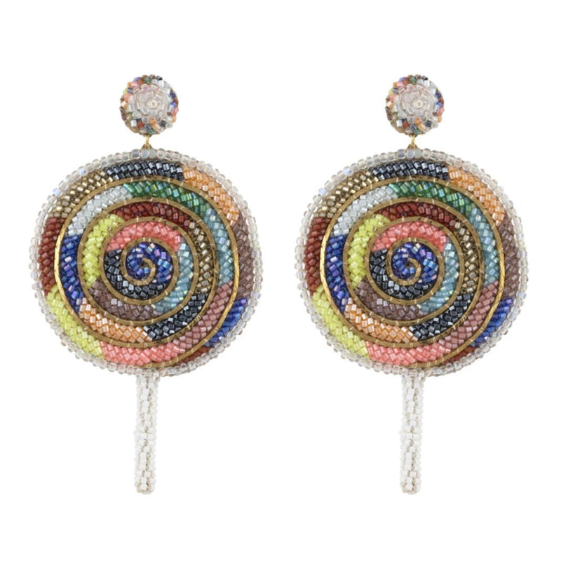 Deepa Gurnani Handmade Lollipop Earrings