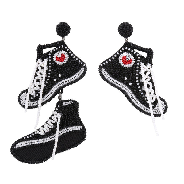 Deepa Gurnani Handmade Sneaker Earrings