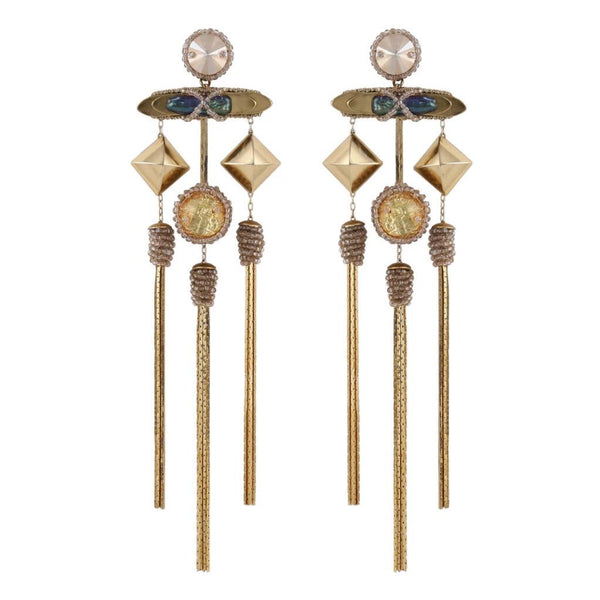 Deepa Gurnani Handmade Malana Earrings