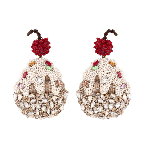 Deepa Gurnani Handmade Sundae Earrings