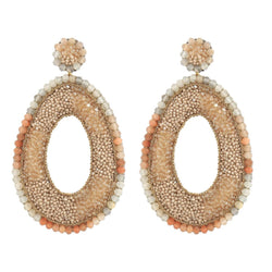 Deepa Gurnani Handmade Trinny Earrings Gold