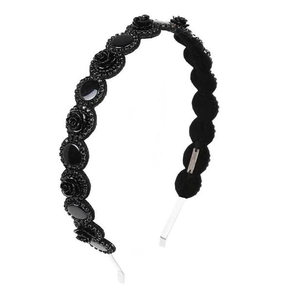 Deepa by Deepa Gurnani Handmade Aya Headband in Black