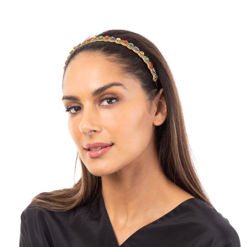 The Maylin Headband is the go-to accessory for that special occasion.