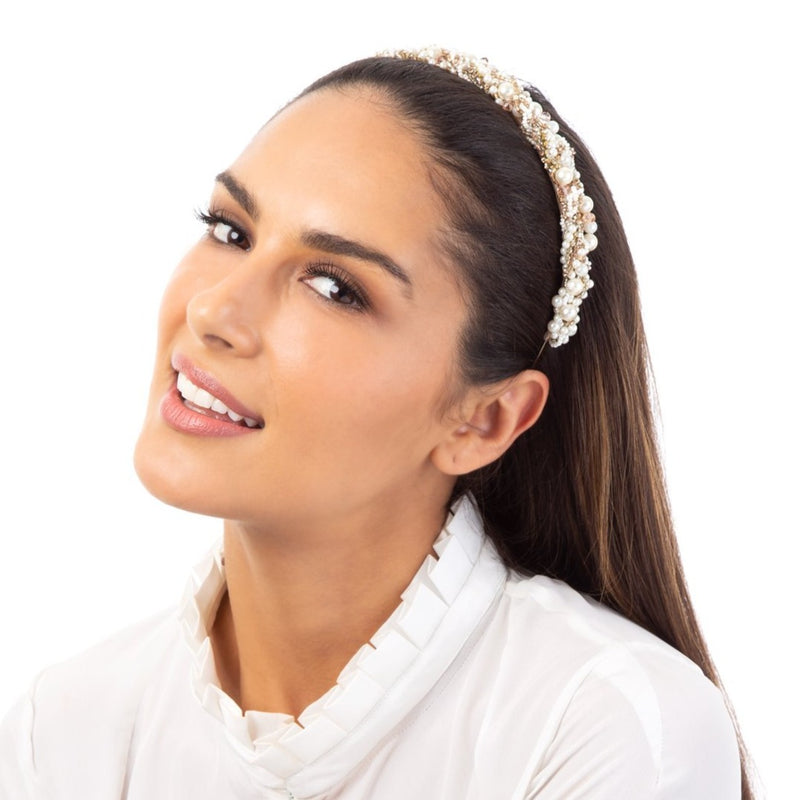 The Kristina Headband is the ideal choice for a bold look.