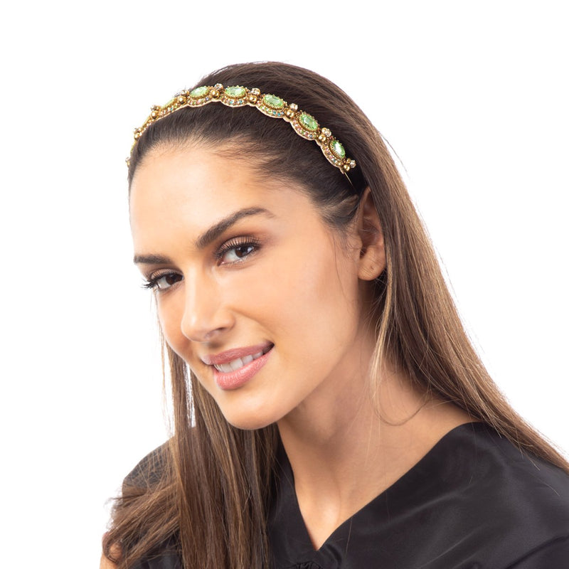 The Kat Headband is one of the season's best hair accessories.