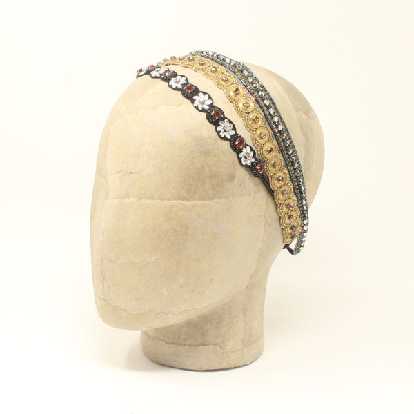 Deepa Gurnani Sample Sale Elastic Headband Set