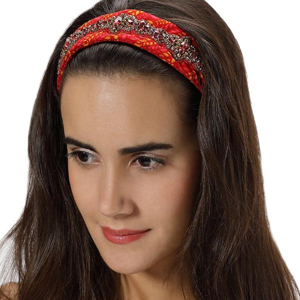 Model Wearing Deepa by Deepa Gurnani Handmade Dolly Bandana