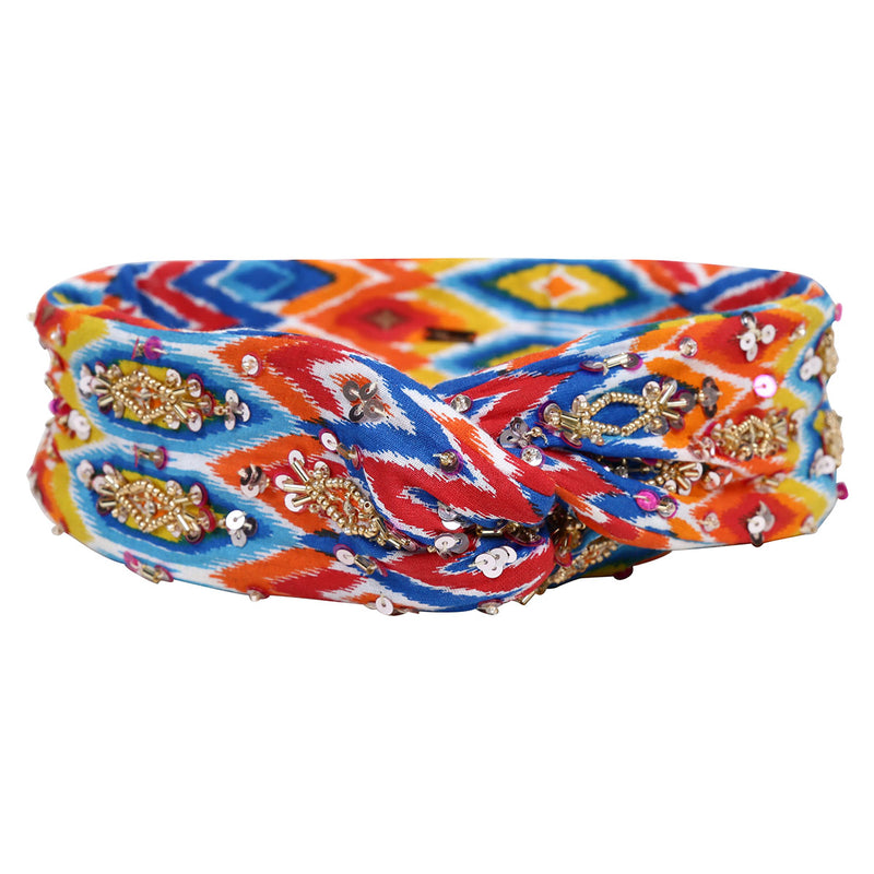 Deepa by Deepa Gurnani Handmade Multi Colored Wire Headwrap